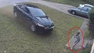 Car Runs Stop Sign, Hits Girl Playing In Yard