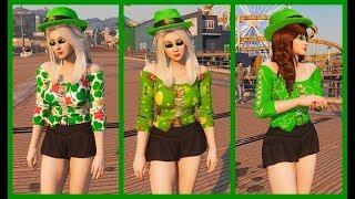 Momiji  Irish clothes are patrick day