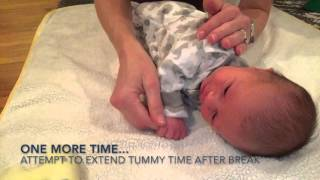 Tummy Time Tools: How To Get Your Newborn Into & Out Of Tummy Time