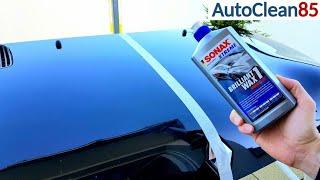 Fusso & Co Alternative? Flüssigwachs auftragen / Sonax Xtreme Brilliant Wax 1 / Auto einfach Waxen