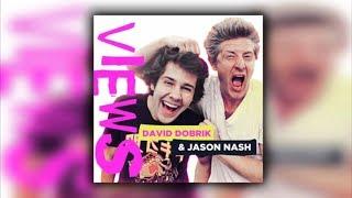 David's First Sloppy Kiss (Podcast #21)   VIEWS With David Dobrik & Jason Nash