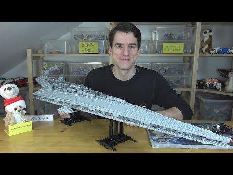 Der wunderschöne & komplett wahnsinnige LEGO® Star Wars 10221 - Super Star Destroyer - UCS