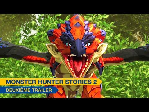 l'histoire en un trailer de Monster Hunter Stories 2: Wings of Ruin