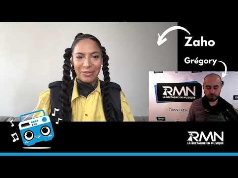 Zaho en interview