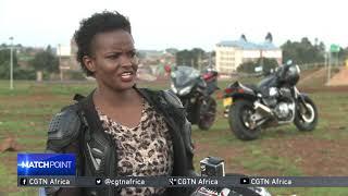Kenya's trailblazing female biker