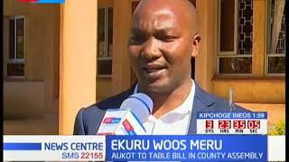 PUNGUZA MZIGO BILL - Ekuru Aukot in Meru to table bill in the County Assembly