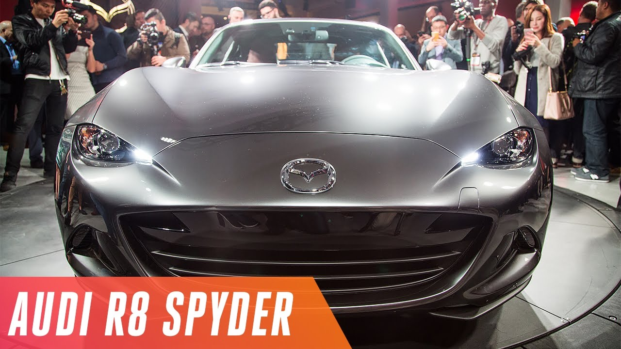 Drop-tops from Mazda and Audi won the New York Auto Show thumbnail