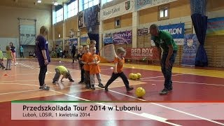 preview picture of video '20140401 Przedszkoliada Tour 2014 | Lubon.TV'