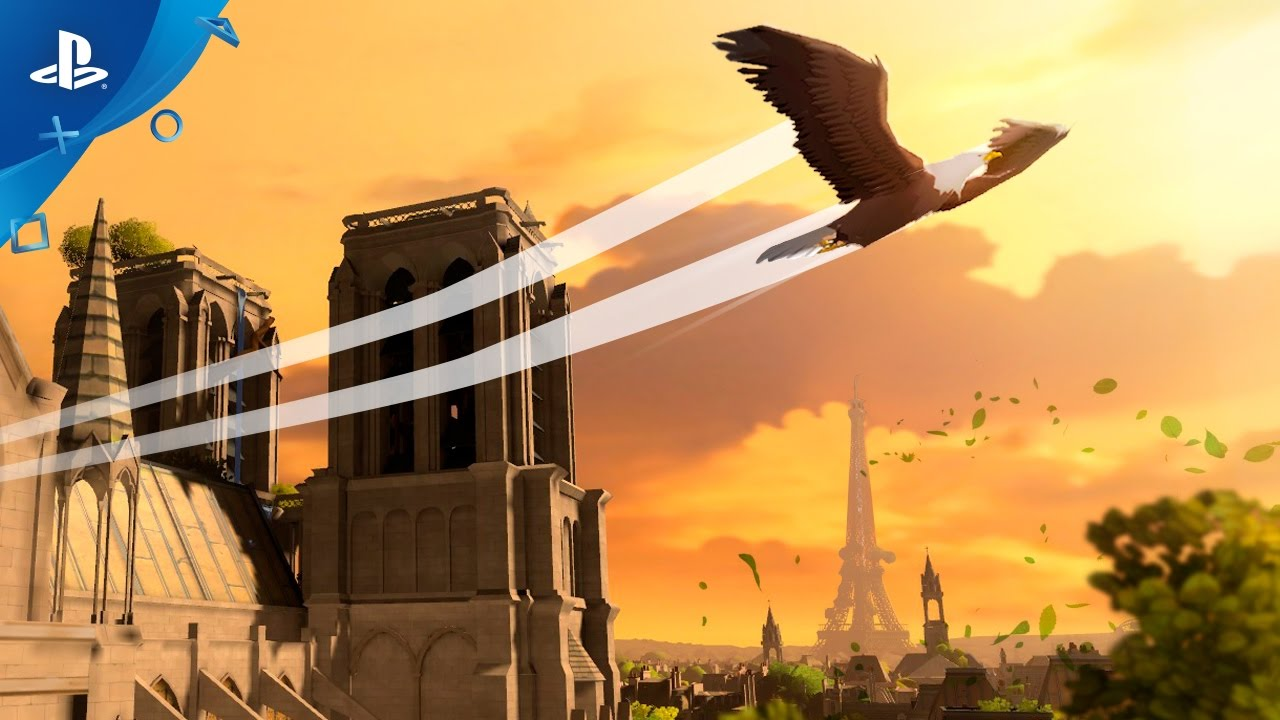 Soar Above Paris in Eagle Flight, Out Today on PS VR