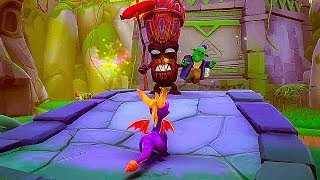 SPYRO REIGNITED TRILOGY - 20 Minutes of Gameplay Demo (PS4 2018)