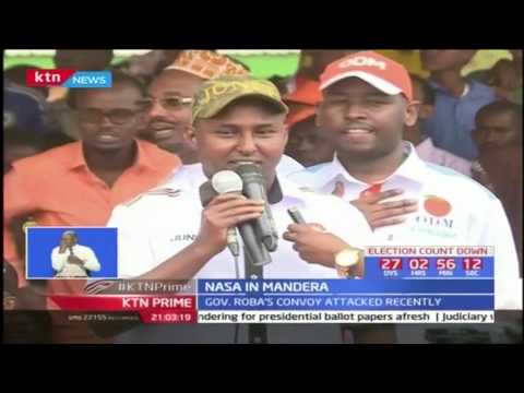 NASA camp in Mandera in search for votes