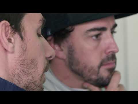 Fernando Alonso Test, Aragon