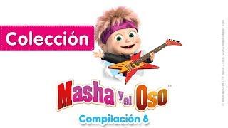 Masha y el Oso - ⭐️ Compilación 8 ⭐️ (20 minutos) Dibujos Animados en Español!
