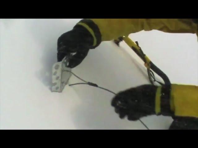 Видео Якорь снежный DMM Deadman красный