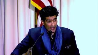 A prestigious throwback to ManishMalhotra speaking at Harvard Business School ab