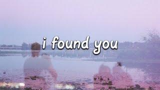Benny Blanco & Calvin Harris   I Found You (Lyrics)