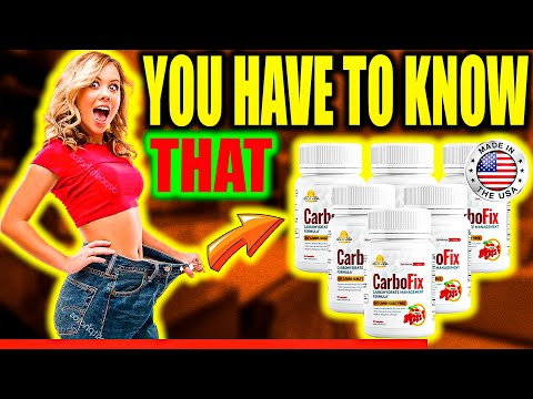 CARBOFIX [KNOW THIS]- Carbofix Supplement Review! Carbofix Side Effects -Carbofix Reviews!#carbofix
