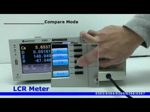 MICROTEST LCR Meter 636X Series Overview