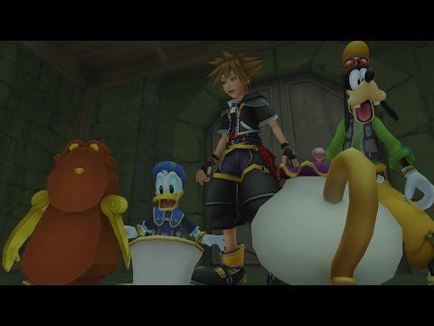 Los personajes favoritos de Disney en un tráiler de Kingdom Hearts