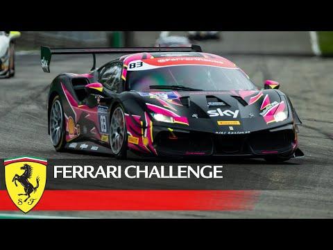 フェラーリチャレンジ2021 モンツァ レース1のフルレース動画