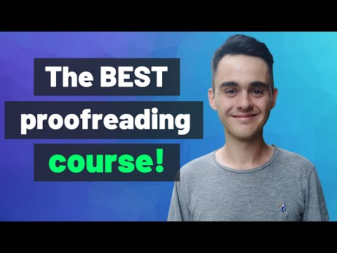 Proofread Anywhere Course Overview & Cost - YouTube