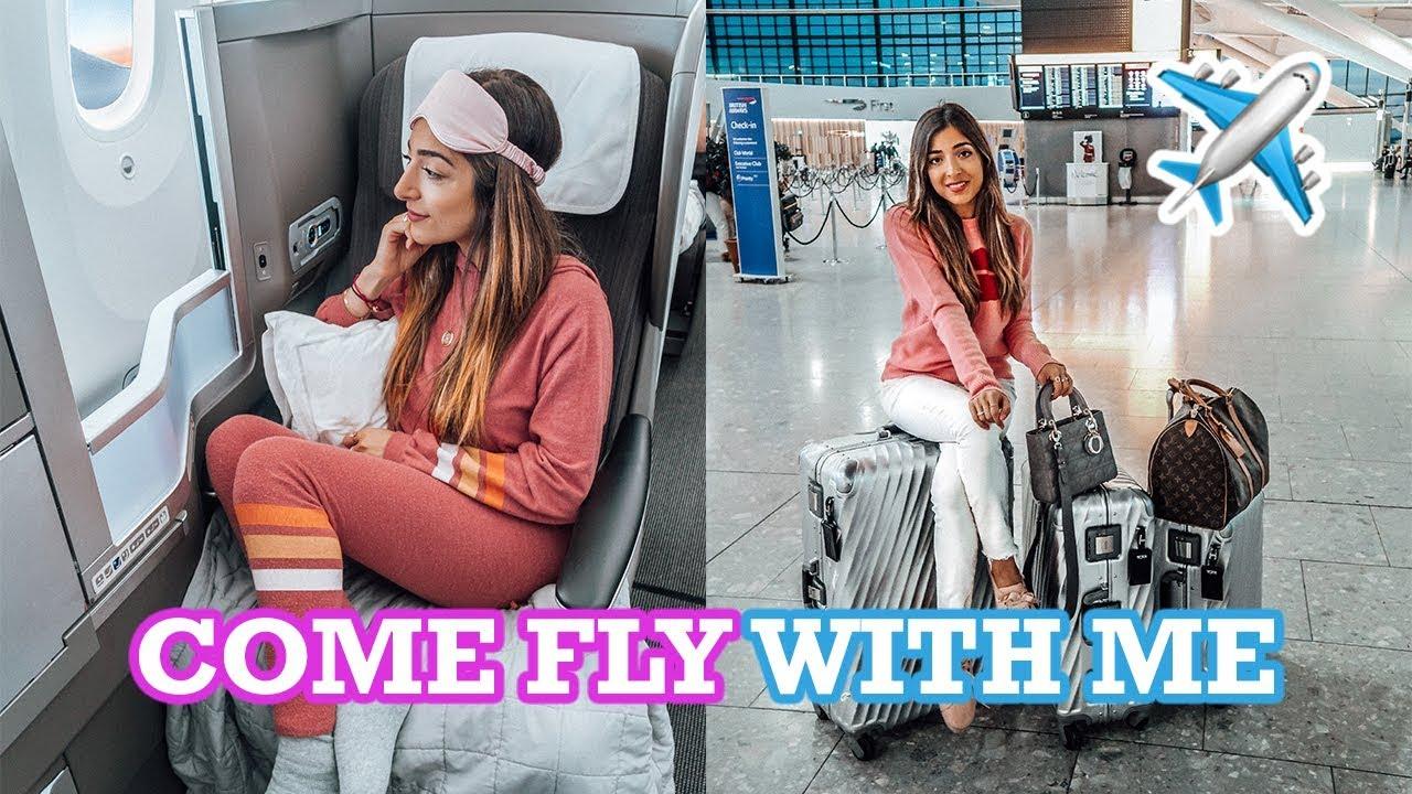 COME FLY WITH ME! My Flight Routine | Amelia liana