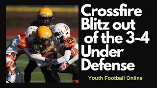 Crossfire Blitz out of the 3-4 Under Defense