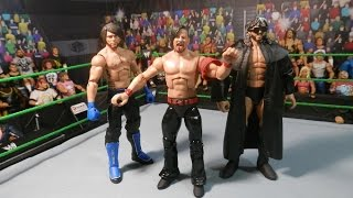 WWE NXT Mattel Elite Customs SHINSUKE NAKAMURA AJ STYLES KENNY OMEGA