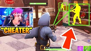 Fortnite Streamers KILLED BY HACKERS LIVE! (Hilarious Glitches and Fails)