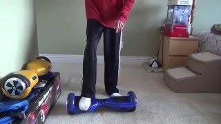 Hover board Riding Tutorial For Beginner