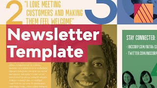 How to Create a Newsletter Template in Affinity Publisher | Free Template