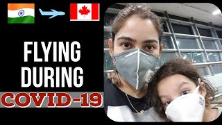Travel Experience During Covid-19 | Vande Bharat - Air India | India To Canada