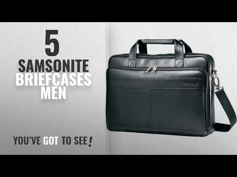 18b92d0b7bd2 Top 10 Samsonite Briefcases Men  2018   Samsonite Leather Slim Brief Case