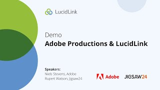 DEMO: Adobe Productions & LucidLink