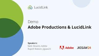 DEMO: Adobe Productions & LucidLink