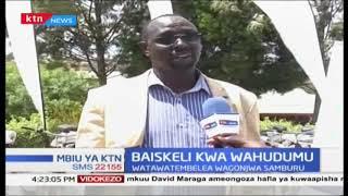 Wahudumu wa afya katika Kaunti ya Samburu wapokea baiskeli