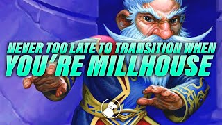 Never Too Late to Transition When You're Millhouse | Dogdog Hearthstone Battlegrounds