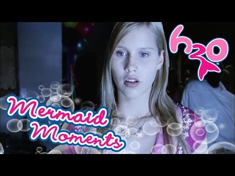 Fullmoon and Emma's reaction| Mermaid Moments | H2O - Just Add Water