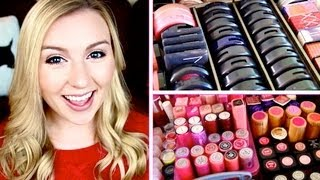 My Makeup Collection & Vanity! December 2012 ❄ Christmas Countdown