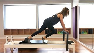 Pilates Reformer: Full Body Class Routine With Cardio Moves