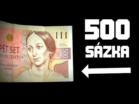 500 Kč SÁZKA, kterou neprohrajete! – TUTORIAL!