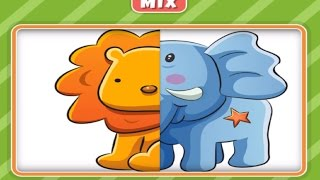 Baby Play Animal Match Up Learning Puzzle Kids Games | Matching for Kids and Toddlers