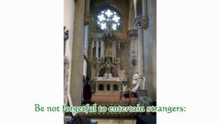 preview picture of video 'Event seen at GORTON MONASTERY Sunday 12th DEC.2010'