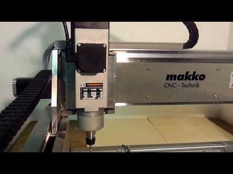Fa. makko CNC-Technik - 1,6 kW Werkzeugwechsler - HD