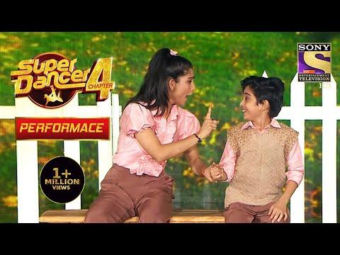 Sanchit और Vartika ने दिया एक Cute Performance | Super Dancer 4 | सुपर डांसर 4
