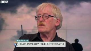 Peter Brierley whose son died in Iraq accused Tony