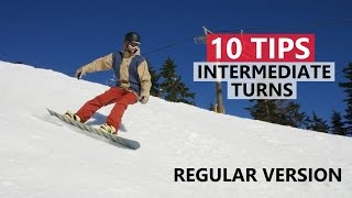 #23 Snowboard intermediate – Snowboarding tips to improve intermediate turns, part 1