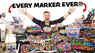 I BOUGHT EVERY MARKER!! - ($5,000+) and USED them ALL...