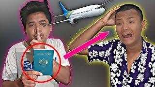 No Setingan! Prank Hilangin Pasport Mas Jim Sampe Nangis Gak Berhenti Auto Panik