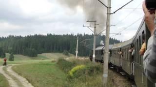 preview picture of video 'Podróż Pociagiem Retro po serpentynach na Podhalu ... ;)'